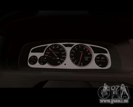 Nissan R33 GT-R Tunable pour GTA San Andreas vue intérieure
