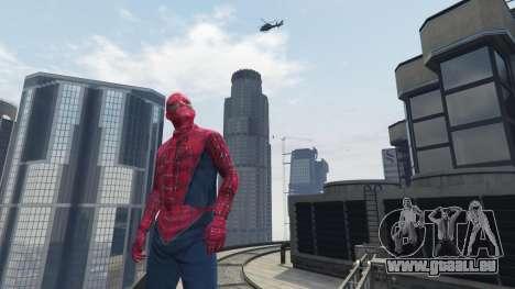 GTA 5 Spider-man fünfter Screenshot