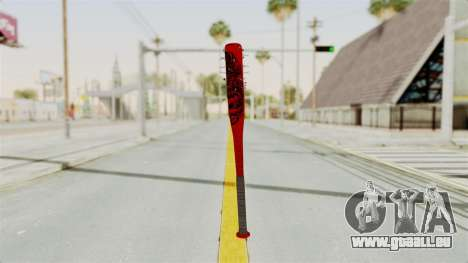 Nail Baseball Bat v2 pour GTA San Andreas deuxième écran