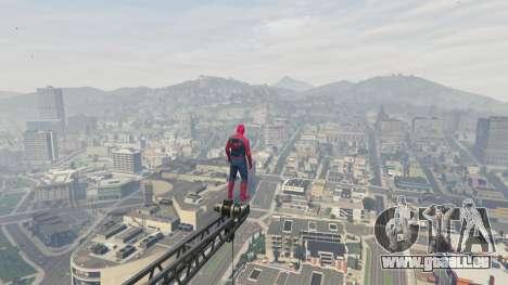 GTA 5 Spider-man sechster Screenshot