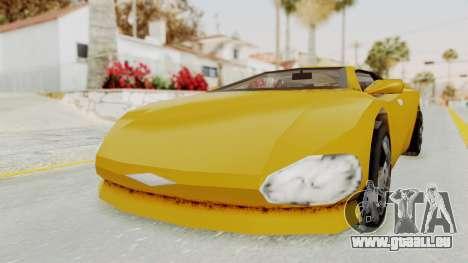 GTA 3 Infernus pour GTA San Andreas vue de droite