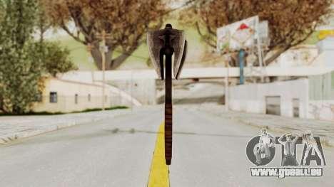 Skyrim Iron Mace pour GTA San Andreas