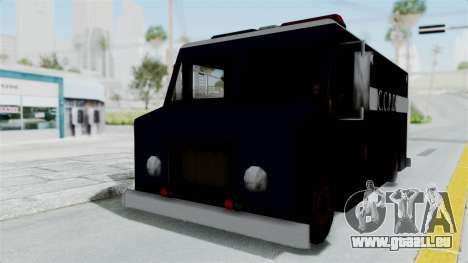 CCPD Boxville from Manhunt pour GTA San Andreas