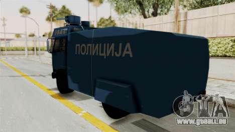 FAP Water Cannon pour GTA San Andreas laissé vue