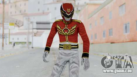 Power Rangers Megaforce - Red für GTA San Andreas