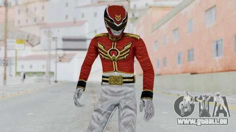 Power Rangers Megaforce - Red pour GTA San Andreas