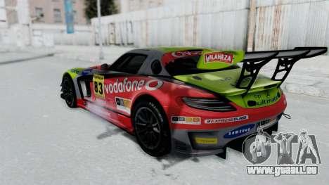 Mercedes-Benz SLS AMG GT3 PJ6 pour GTA San Andreas