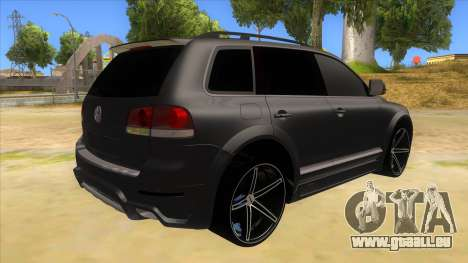Volkswagen Touareg HQ für GTA San Andreas rechten Ansicht