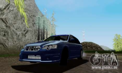 Subaru Legacy STi Wagon 2008 pour GTA San Andreas
