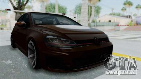 Volkswagen Golf 7 Stance pour GTA San Andreas