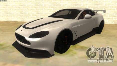 2015 Aston Martin Vantage GT12 für GTA San Andreas