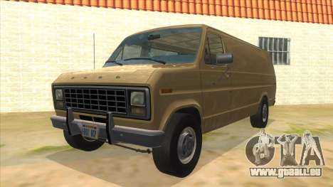Ford E-250 Extended Van 1979 pour GTA San Andreas