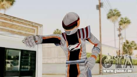 Power Rangers Operation Overdrive - Mercury für GTA San Andreas