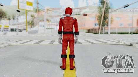 Power Rangers RPM - Red für GTA San Andreas dritten Screenshot