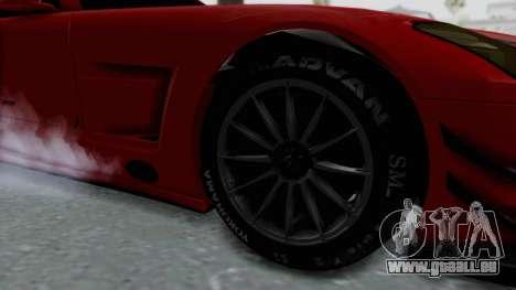 Mercedes-Benz SLS AMG GT3 PJ6 pour GTA San Andreas vue arrière