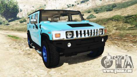 Hummer H2 2005 [teinte] v2.0 pour GTA 5