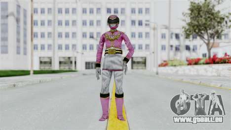 Power Rangers Samurai - Pink für GTA San Andreas zweiten Screenshot