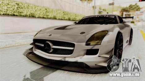 Mercedes-Benz SLS AMG GT3 PJ3 pour GTA San Andreas