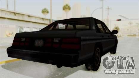 Cruiser from Manhunt 2 pour GTA San Andreas vue de droite
