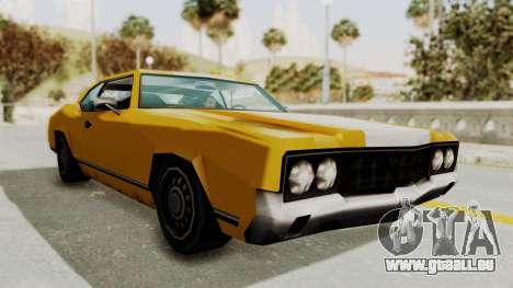 GTA VCS - Cholo Sabre pour GTA San Andreas vue de droite