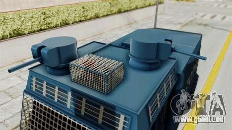FAP Water Cannon pour GTA San Andreas vue de droite