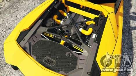 Lamborghini Aventador LP720-4 50th Anniversary für GTA 5