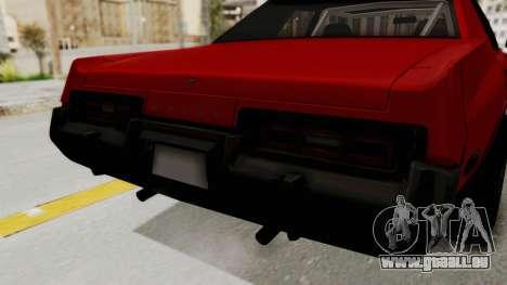 Dodge Monaco 1974 Drag pour GTA San Andreas vue intérieure