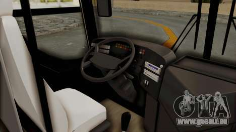 Superlines Ordinary Bus für GTA San Andreas Rückansicht