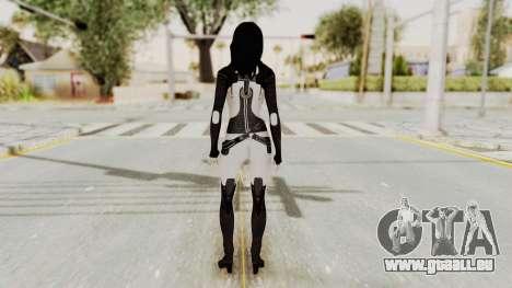 Mass Effect 3 Miranda pour GTA San Andreas troisième écran