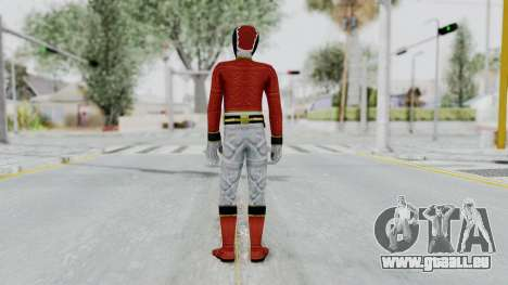 Power Rangers Megaforce - Red für GTA San Andreas dritten Screenshot