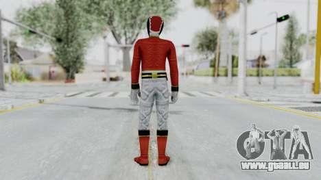 Power Rangers Megaforce - Red pour GTA San Andreas troisième écran