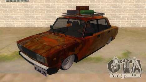VAZ 2107 Rusty Gringo pour GTA San Andreas