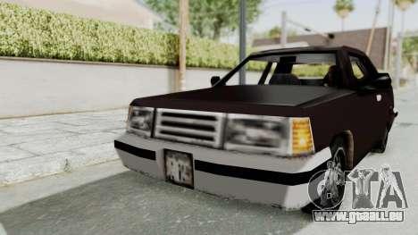 GTA 3 Manana pour GTA San Andreas