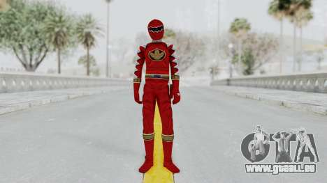 Power Rangers Dino Thunder - Red pour GTA San Andreas deuxième écran