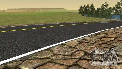 De nouvelles textures pour les Criminels de la R pour GTA San Andreas cinquième écran