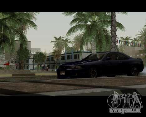 Nissan R33 GT-R Tunable pour GTA San Andreas vue arrière