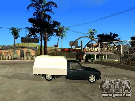 Vis 2345 für GTA San Andreas Rückansicht