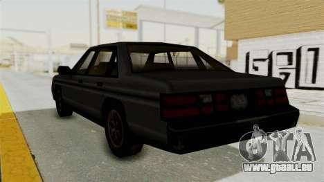 Cruiser from Manhunt 2 pour GTA San Andreas laissé vue