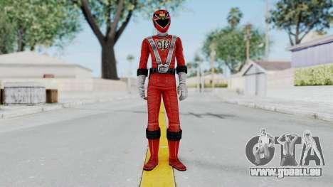 Power Rangers RPM - Red für GTA San Andreas zweiten Screenshot