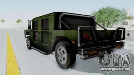 Patriot from Manhunt 2 pour GTA San Andreas laissé vue