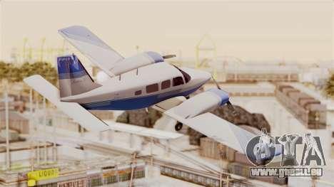 Piper Seneca II v2 pour GTA San Andreas vue de droite