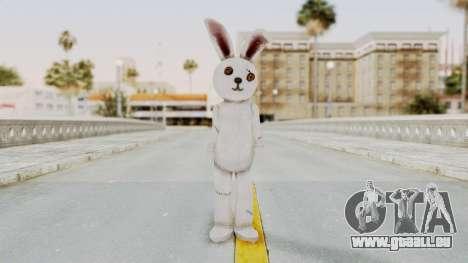 Lollipop Chainsaw Juliet Starling BunnyRabbit pour GTA San Andreas deuxième écran