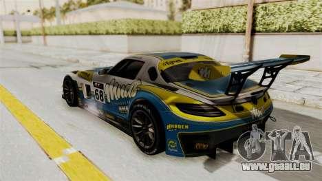 Mercedes-Benz SLS AMG GT3 PJ3 pour GTA San Andreas vue intérieure