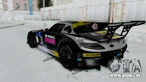 Mercedes-Benz SLS AMG GT3 PJ6 pour GTA San Andreas roue