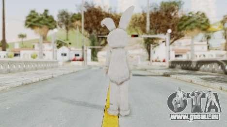Lollipop Chainsaw Juliet Starling BunnyRabbit pour GTA San Andreas troisième écran
