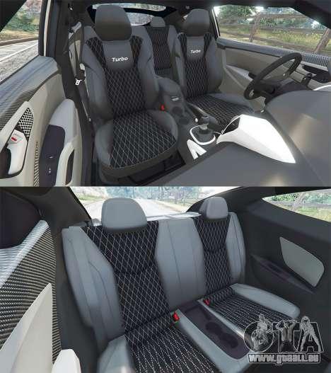 GTA 5 Hyundai Veloster Turbo droite vue latérale