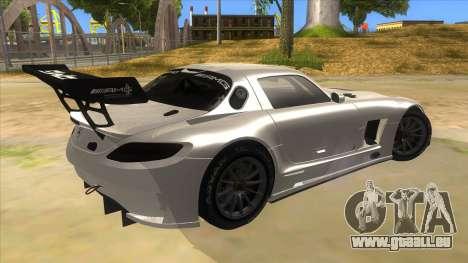 Mercedes Benz SLS AMG GT3 pour GTA San Andreas vue de droite
