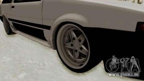 Toyota AE86 Sprinter Trueno für GTA San Andreas Rückansicht
