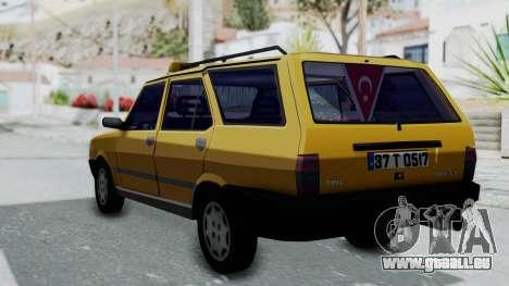 Tofas Kartal Taxi für GTA San Andreas linke Ansicht