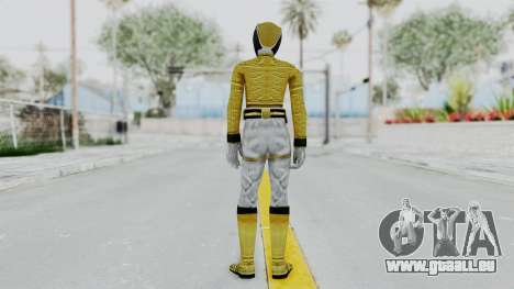 Power Rangers Megaforce - Yellow pour GTA San Andreas troisième écran